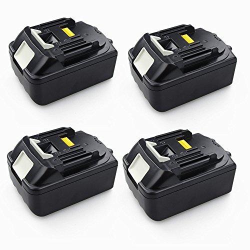 Preisvergleich Produktbild 4X 18V 5000mAH Ersetzen Batterie für Makita BL1830 BL1850 Li-Ion Werkzeug Akku