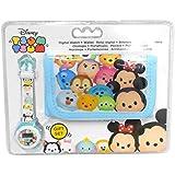 Disney - Disney WD16686 Tsum Tsum Gift Set portefeuille + montre numérique