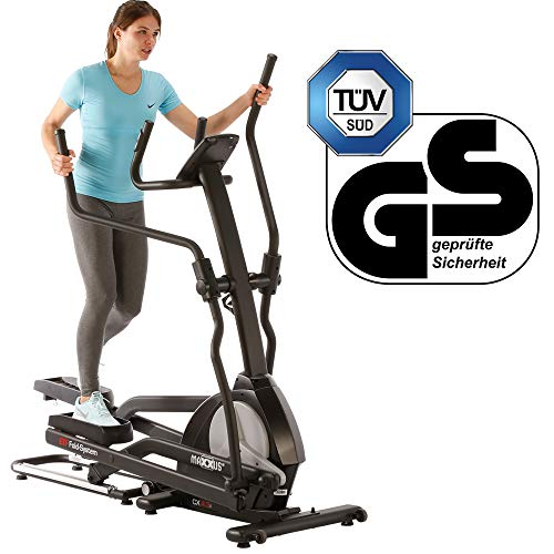 Maxxus CX 4.3f Foldable Elliptical Cross Trainer | Gym Quality Elliptical Trainer for Home Use | ETF Folding System for Optimal Space Saving