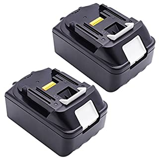 3.0 ah 18V Replacement Battery for Makita BL1830, BL1815 (2X Packs)