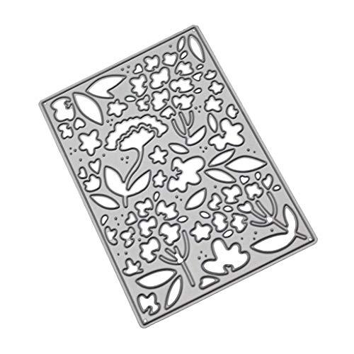 Xmiral fustelle per scrapbooking per carta cutting dies metallo fustella stencil #19042608, accessori per big shot e altre macchina(a)