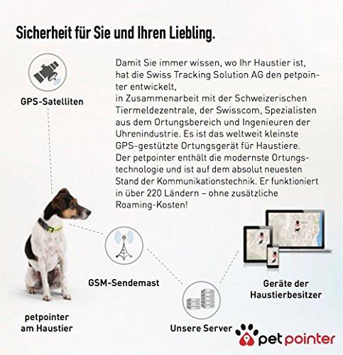 Petpointer – kleinster GPS Tracker für Tiere - 4