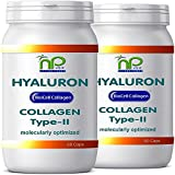 Biocell 120 Collagen-II Hyaluronic Acid Capsules - Highly Concentrated Formula 1000mg/Day (2X60)