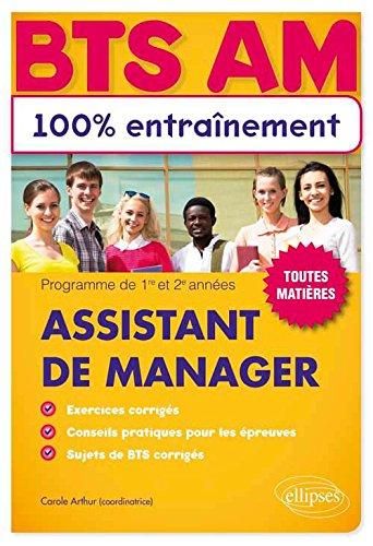 BTS Assistant de Manager 100% Entraînement Toutes Matières
