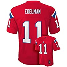 Julian Edelman New England Patriots # 11NFL Youth mid-tier Alternate Jersey Rojo, Marino