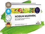 Die besten Natürliche Multivitamin für Männer - Nobilin Multivital - 120 Multivitamin Tabletten [4-Monatsvorrat] Tägliche Bewertungen