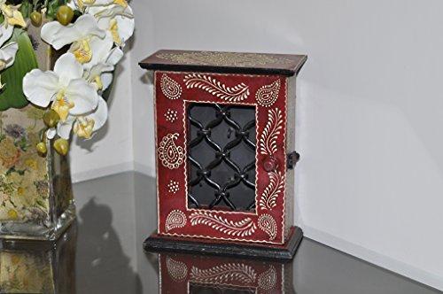 Lal Haveli arredamenti portachiavi legno cabinet box