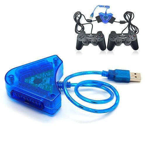 Dealingames PS2 Game Controller TO PS3, PC USB Converter