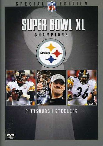 NFL Super Bowl XL - Pittsburgh Steelers Championship DVD (Nfl Films Steelers)