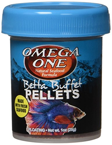 Omega One Betta Buffet Pellets Betta Food - Unzen -