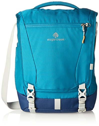 EAGLE CREEK CATCH ALL COURIER PACK RFID 12L (CELESTIAL BLUE) Celestial Blue