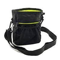 Sacoche à friandises pour éducation de chien, Saienfeng sac à friandises chien avec sangle réglable et poches zippées