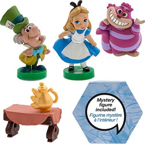 Coffret Disney de 5 Mini Figurines Alice au Pays des Merveilles