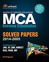 MCA Entrance Examination Solved Papers (2014 - 2005) (Old Edition)
