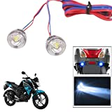 #10: Vheelocityin 2pc. Bike/ Motorcycle/ Scooter Flasher LED Mini Flash Light BLUE...