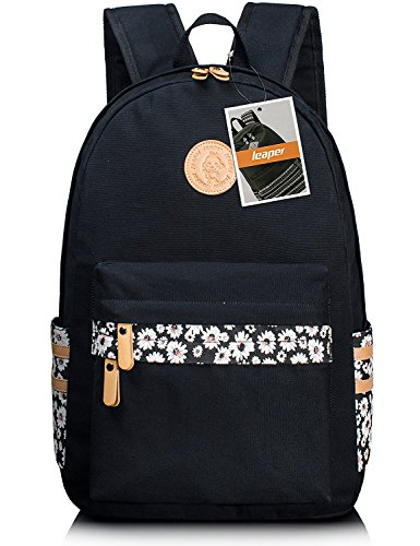 leaper-sac-a-dos-scolaire-cartable-fille-sac-porte-dos-voyage-sac-deux-bretellesschool-backpack-trav