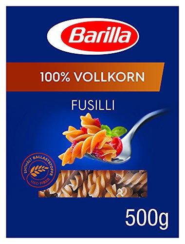 Barilla Vollkorn Pasta Fusilli Integrale – 1er Pack (1x500g)