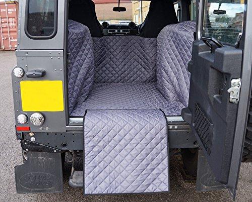 Preisvergleich Produktbild Land Rover Defender 90SWB (2007-present) gesteppt Wasserdicht Kofferraumwanne