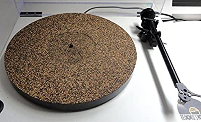 Vinyl Guru Cork Rubber Turntable Mat