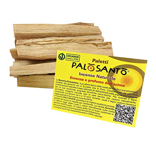 Palo Santo Natural Incense - Sticks Variety Popular - gr. 100 - Aroma for Yoga, meditation, relaxation, spirituality, Inner Journey - Shamanism