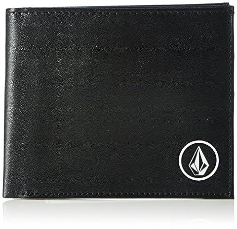 Volcom Volcom Corps Large Geldbeutel Wallet, Portefeuilles mixte adulte, Schwarz (Black), 3x10x12 cm (B x H T)