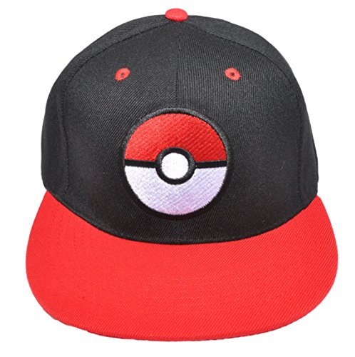 Baseball-Kappe mit Pokémon-Motiv Team Mystic, Instinct, Valor, bestickt, für Trainer und Cosplayer Gr. One Size, (Kinder Kostüme Pokemon)