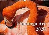 Flamingo Art 2020 (Wandkalender 2020 DIN A3 quer): Flamingo Art - Ein absoluter Blickfang im Büro und zu Hause (Monatskalender, 14 Seiten ) (CALVENDO Tiere) - Max Steinwald