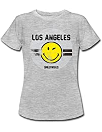 Spreadshirt Smiley World Los Angeles Winking Smiley Women's T-Shirt
