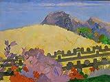 kunst für alle Stampa Artistica/Poster: Paul Gauguin Parahi Te marae Dort liegt der Tempel - Stampa di Alta qualità, Immagini, Poster artistici, 100x75 cm