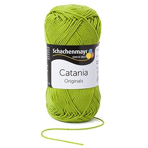Schachenmayr Catania 9801210-00205 apfel Handstrickgarn, Häkelgarn, Baumwolle