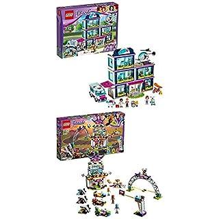 Lego Friends 41318 - Heartlake Krankenhaus + Friends Das große Rennen 41352 Kinderspielzeug (B07HLF6N98) | Amazon Products