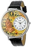 Whimsical Watches Unisex U0710011 Lord's Prayer Black Skin Leather Watch best price on Amazon @ Rs. 1403