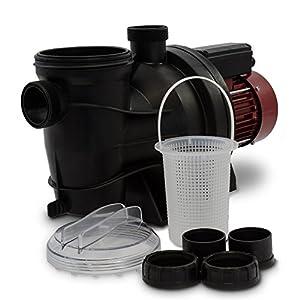 Berlan Pompa per Piscina elettrica 800 W Portata 15000 l/h Pompa di filtrazione