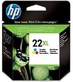 HP 22XL High Yield Tri-color Original Ink Cartridge (C9352CE)