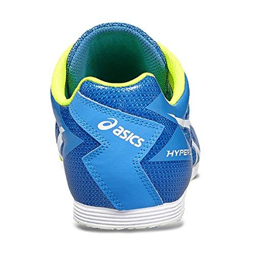 Asics Unisex-Erwachsene Hyper LD 5 Leichtathletikschuhe DIVA BLUE/WHITE/SAFE