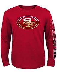 "San Francisco 49ers Jeunesse Youth NFL ""Hour Glass"" Long Sleeve T-Shirt"