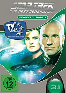 Star Trek - Next Generation - Season 3.1 (3 DVDs) [Import allemand]