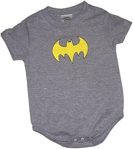 Batgirl Logo Infant Onesie Snapsuit, 6