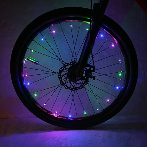 VGEBY Lampada della Ruota per Bicicletta 20 LED Luci...