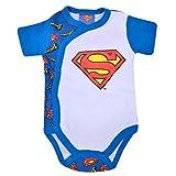 Superman Blau Baby Body Babykleidung Strampler Unterwäsche Best einzigartig Geschenk
