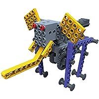 Fumetti mobile costruzione giocattolo, SainSmart Jr. Blocchi team-06 BT Blocchi educativi creativi nuovi, con AR Vista, fantasia scatola di plastica gratuita, silvicolo Skills stelo (Elephant)