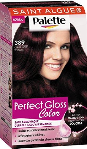 Saint Algue Palette Perfect Gloss Color Coloration Permanente 389 Cerise Noire Velours 115 ml