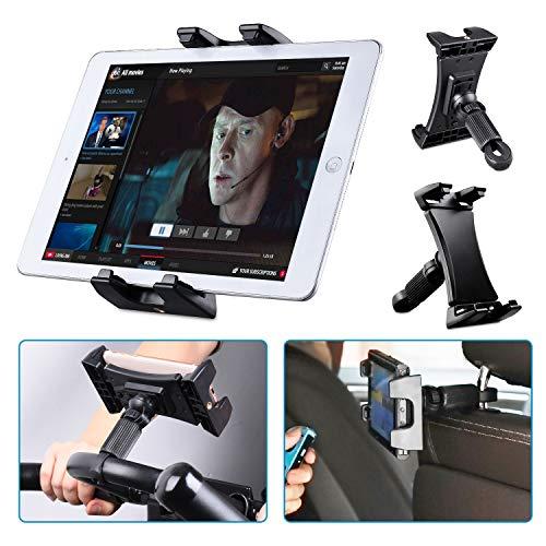 "Tendak Heimtrainer Spinning Fahrrad Tablet Halter, Tragbare Auto Kopfstütze Laufband Gymnastik Lenker Einstellbare 360° Schwenk Halterung für iPad Pro iPad Mini iPad Air, 4,7-12,9\"" Tablets Smartphones"