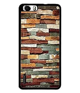 PrintVisa Designer Back Case Cover for Huawei Honor 6 Plus (Sober Executive Blocks Tiles Stones)