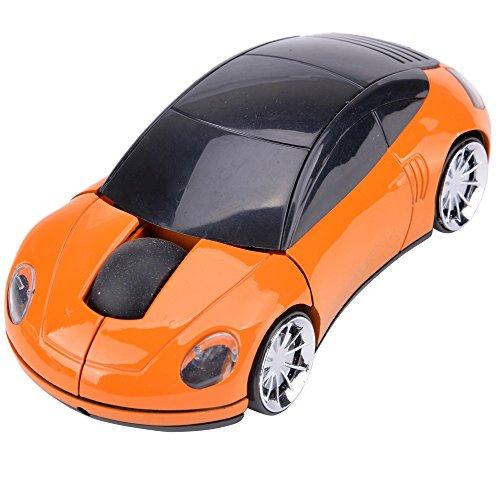 2,4 GHz Drahtlose Optische Maus,Hikenn Wireless Kabellose Porsche Auto Form Funk Maus Für PC Laptop USB Empfänger
