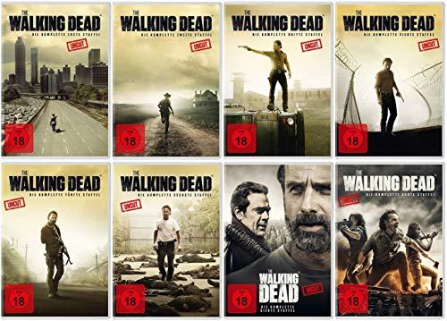 The Walking Dead - Die kompletten Staffeln 1-8 im Set (38 DVDs)