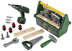 Bosch - Tool Case, herramientas de juguete (Theo Klein 8429)