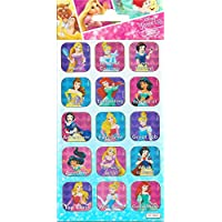 Paper Projects 9114715 Disney Princess Caption Stickers, Various