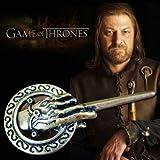 Acheter 2 et obtenir 1 gratuit! Bijou Game of Thrones , 7 cm Large Antique Washed Gold, 7 cm