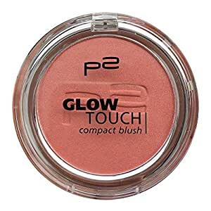 p2 cosmetics Rouge glow touch compact blush touch of peony 030, 5 g (1St)